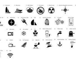 #1 untuk Pictograms for a Boat Booking Website oleh Bervanince