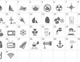 nº 6 pour Pictograms for a Boat Booking Website par Bervanince