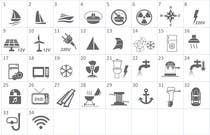 Proposition n° 14 du concours Graphic Design pour Pictograms for a Boat Booking Website