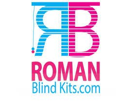 #44 cho Design a Logo for romanblindkits.co.uk bởi Prologomaker