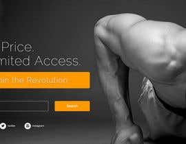 #18 para Design a Website Mockup for Fitness Business por deerendee