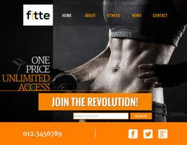 daarster tarafından Design a Website Mockup for Fitness Business için no 29