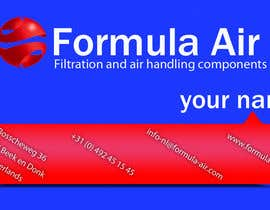 #26 cho Formula Air businesscards! bởi madiworks