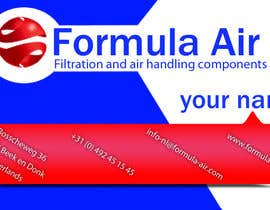 #28 cho Formula Air businesscards! bởi madiworks