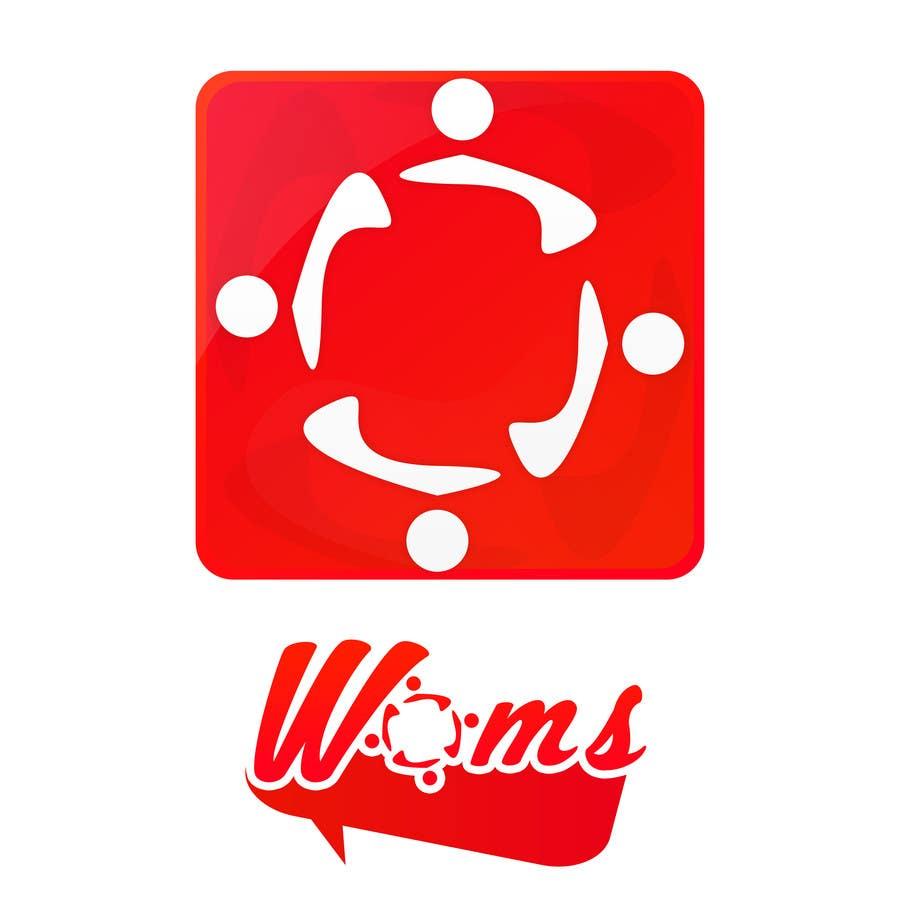 Konkurrenceindlæg #                                        17                                      for                                         Logo and SplashScreen design for APP WOMS