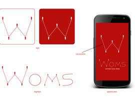 #8 untuk Logo and SplashScreen design for APP WOMS oleh giuseppegagliolo