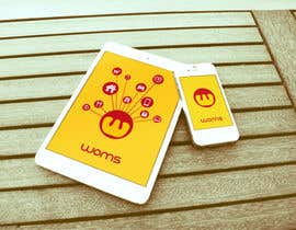 #29 for Logo and SplashScreen design for APP WOMS by lucanif