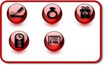 Design some Icons for Wholesale Crystal Website için Graphic Design15 No.lu Yarışma Girdisi