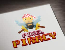 #10 cho Logo for the game: Pixel Piracy bởi RaduPlo