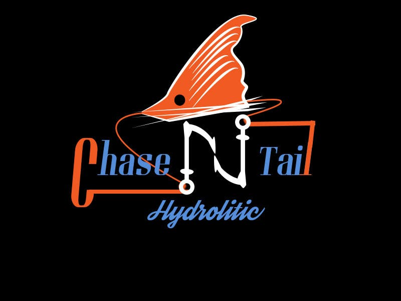 Konkurrenceindlæg #6 for Tshirt for a fishing company, Chase-N-tail