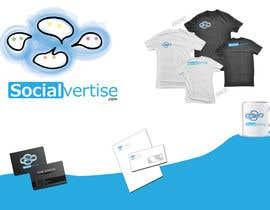#147 para Logo Design for Socialvertise por Rflip