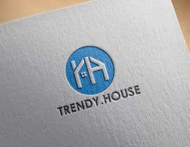 #128 for Design logo for website www.trendy.house af diptisarkar44