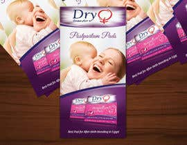 #82 untuk design flyer to afterbirth pads(female pads) oleh LantisDesign