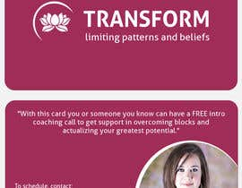 nº 48 pour Design some Business Cards for free coaching services par vigneshhc