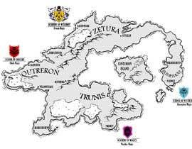 nº 17 pour Fantasy Map and School Emblems par anjaweihe