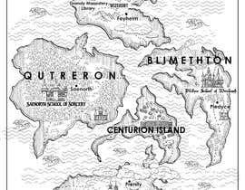 nº 19 pour Fantasy Map and School Emblems par sonalibasu77