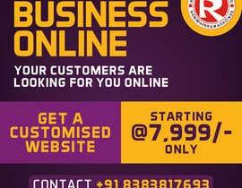 #60 for Need Banner for my Website Designing Service af ranjupay