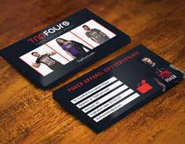 #17 para Gift Certificate/Business Card/Promo Design por expectsign