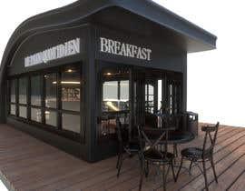 Nro 8 kilpailuun Interior and exterior Design for a coffee shop käyttäjältä wahid888