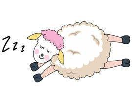 Nro 87 kilpailuun Draw a simple sheep charactor käyttäjältä ansercreation