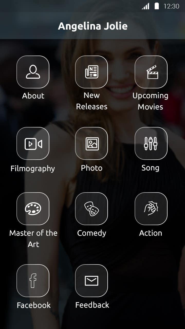 Konkurrenceindlæg #                                        26                                      for                                         Improve an App Home Screen Mockup