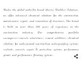 nº 11 pour Blog writing for a Construction Company par farhad2336