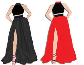 #1 untuk I want a tech pack design of a dress. oleh manjiribhave
