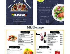 #38 for Design Me A Menu For My Burger Store af arghyab43