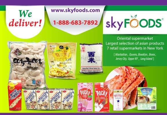 Konkurrenceindlæg #20 for Design a Flyer for asian online supermarket
