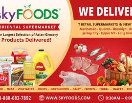 Dezign365web tarafından Design a Flyer for asian online supermarket için no 34