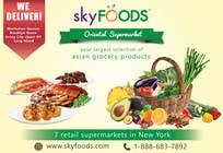 Design a Flyer for asian online supermarket için Graphic Design12 No.lu Yarışma Girdisi