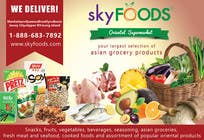 Design a Flyer for asian online supermarket için Graphic Design33 No.lu Yarışma Girdisi