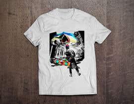 #10 untuk BAck to the future 2 JAws 19 Holographic Shark Tee Shirt Design oleh jlangarita