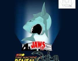 #51 untuk BAck to the future 2 JAws 19 Holographic Shark Tee Shirt Design oleh Adriangtx