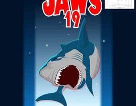 #53 untuk BAck to the future 2 JAws 19 Holographic Shark Tee Shirt Design oleh Adriangtx