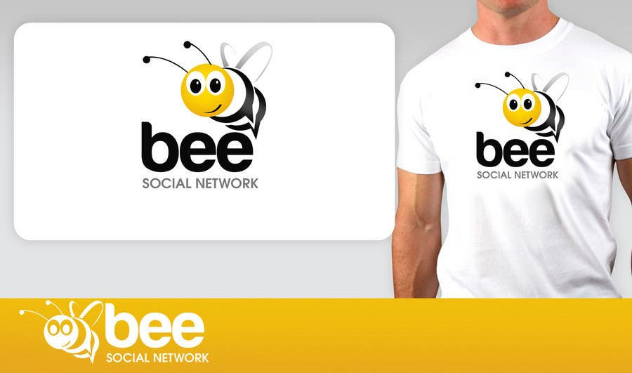 #76 for Logo Design for Logo design social networking. Bee.Textual.Illustrative.Iconic by pinky