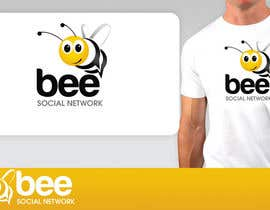 #76 для Logo Design for Logo design social networking. Bee.Textual.Illustrative.Iconic от pinky