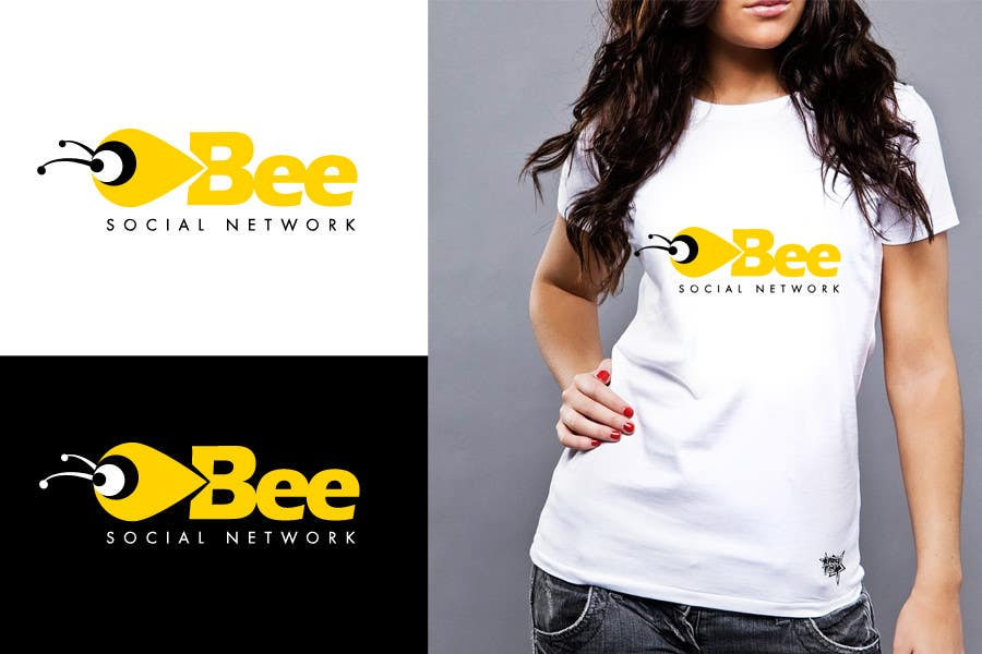 #48 for Logo Design for Logo design social networking. Bee.Textual.Illustrative.Iconic by twindesigner