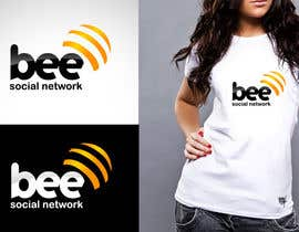 #135 para Logo Design for Logo design social networking. Bee.Textual.Illustrative.Iconic de twindesigner