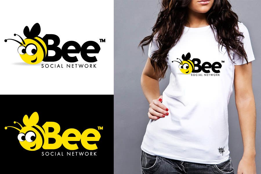 #113 for Logo Design for Logo design social networking. Bee.Textual.Illustrative.Iconic by twindesigner