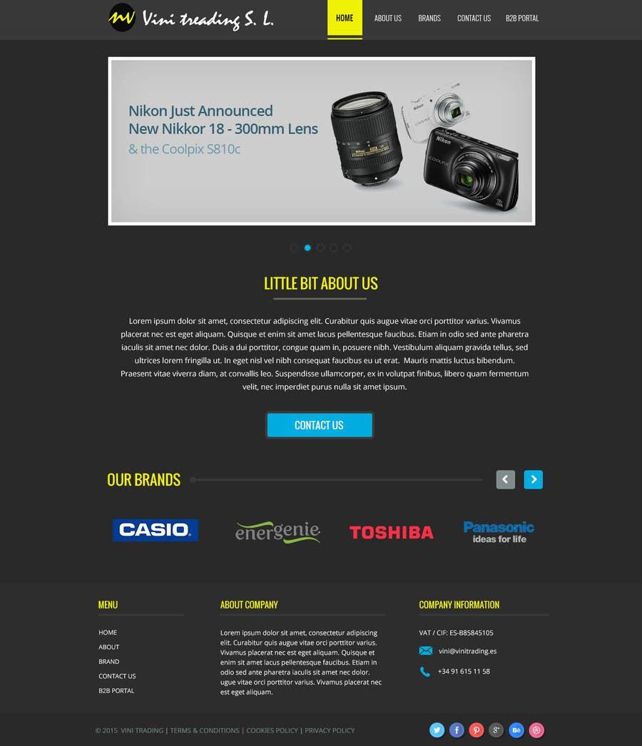 Konkurrenceindlæg #16 for Build a Corporate Website & Re-Design Company Logo