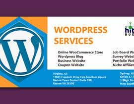 Nro 30 kilpailuun Design a Facebook stunning post for wordpress services käyttäjältä luphy