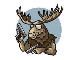 #98 för Undercover Moose Sticker av ura