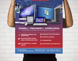 #105 untuk Design poster A1 for a computer company oleh stylishwork
