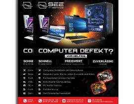 #129 untuk Design poster A1 for a computer company oleh mdwahiduzzaman90