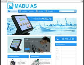 #47 para Design a set of website banners for MABU AS por adriandudkiewicz