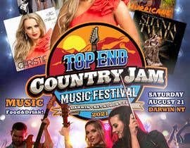 #55 for Create Posters for a Country Jam by xetus