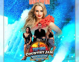 #61 for Create Posters for a Country Jam by alom104