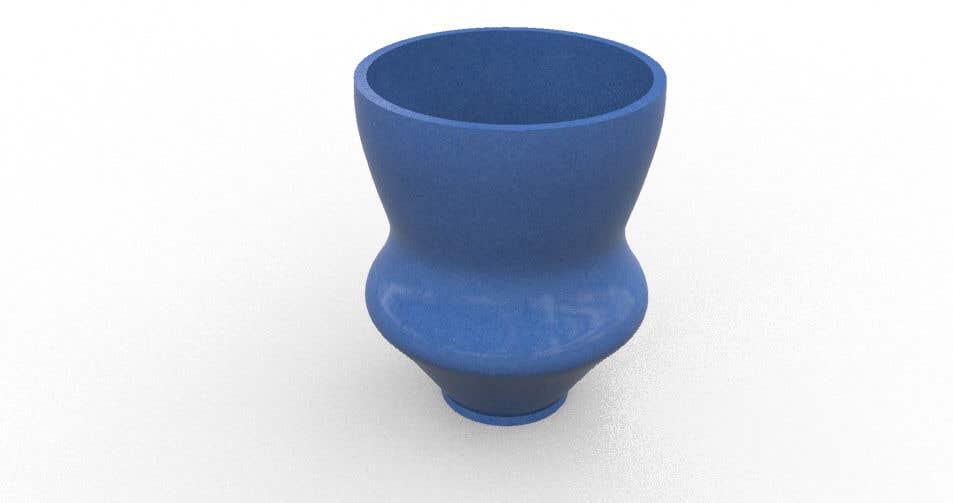 Contest Entry #                                        35                                      for                                         3D Plant Pot Design