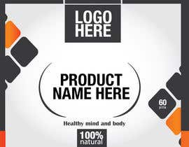 #10 for Design a label for a nutritional product af digitalartsguru